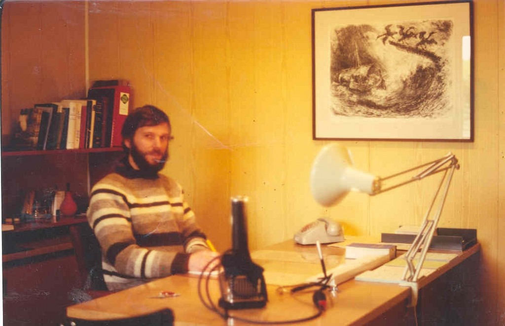 Dr. Tellnes på Røst legekotor1979